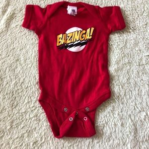 Other - Big Bang Theory - BAZINGA - bodysuit